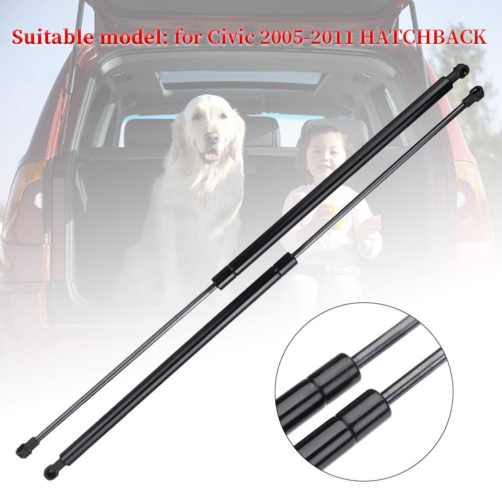 1 Pair Auto Spring Direct Fit Exterior Tailgate Car Hatchback 74820SMGE01 Gas Struts Support Lift Accessories For Civic 05-11