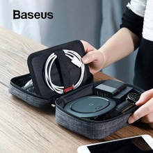 Baseus 7.2'' Universal Phone Bag For iPhone XR Xs Max 7 Samsung S10 Huawei P30 Pro Phone Case Portable Phone Storage Bags Pouch(China)