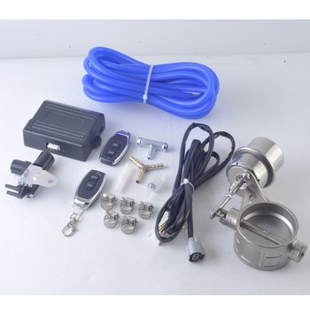 universal Exhaust Cutout Vacuum Pump Vacuum Valve Control Unit with Exhaust Vacuum Control Solenoid Valve with remote Control rastp exhaust control valve set with vacuum actuator cutout 3 0 76mm pipe close style with wireless remote controller rs bov041
