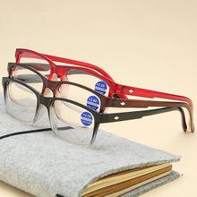 Очки для чтения мужчин и женщин с градиентной оправой