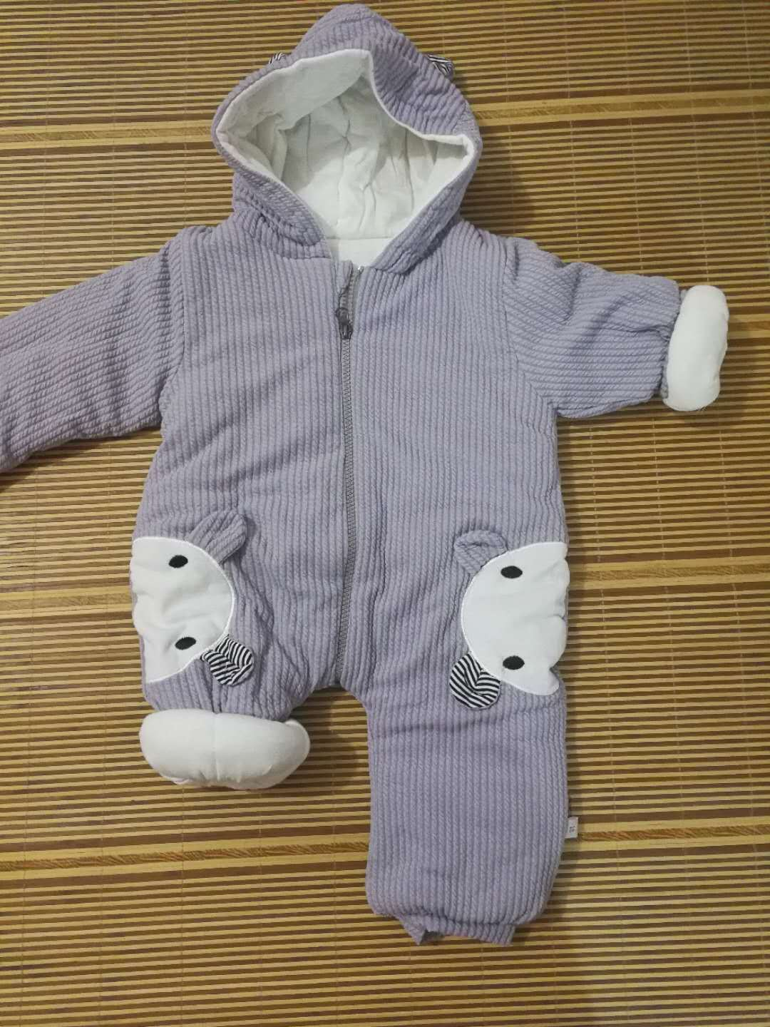 H68e3684513d14d57a01d3aafc0a571d9I 2019 New Russia Baby costume rompers Clothes cold Winter Boy Girl Garment Thicken Warm Comfortable Pure Cotton coat jacket kids