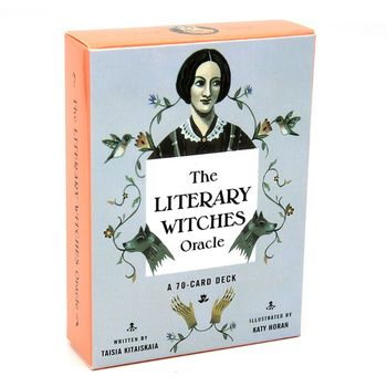 2020 The Literary Witches Oracle 70 Cards Tarot Deck English Family Party Board Game 24BD недорого