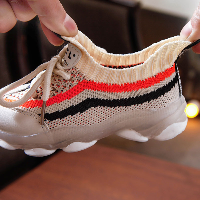 Knitted Non-slip Fashion Sneakers 18