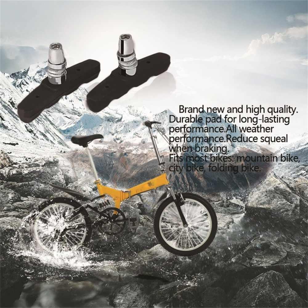 Caldo! 1Pcs di Alta Qualità di Riciclaggio della Bicicletta Mountain Bike Sport Freni Pastiglie Supporti Scarpe Blocchi di Nero Più Nuovo
