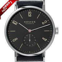 Hot Selling Nomos Watch thefifth Watch Quartz Two Needle Half Leather Watch Strap Watch MEN'S Quartz Watch|  -