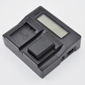 Image 5 - ホット3C Cameraバッテリー充電器デュアルチャネル液晶表示のクイックソニーNp Fp70 Fp90 Np Fv50 Np Fv60 Np Fv70 np fv