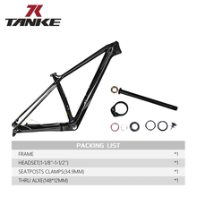 Bicycle-Frame Boost-Disc Mountain-Bikes Carbon-Fiber 29er Thru T800 MTB Gloss Bb68-Thread