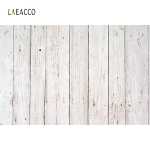 Image 2 - Laeacco White Wooden Board Texture Photography Backdrop Vinyl Photo Background Baby Shower Photocall For Photo Studio Photophone