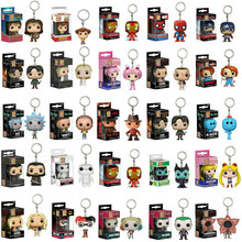 FUNKO POP Keychain Stranger Things Spider Man Captain Americ