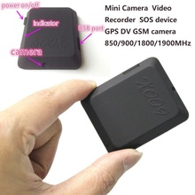 Latest mini camcorders X009  Mini Camera Monitor Video Recorder SOS GPS DV GSM camera 850/900/1800/1900MHz kamera cam gps gsm tracker for motorcycle vehicle 850 900 1800 1900mhz