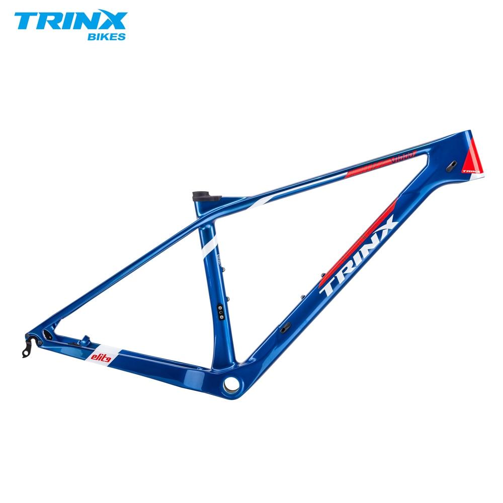 TRINX MTB Carbon Frame 27.5er 27.5 29 Carbon Bike Frame T800 Carbon MTB Frame Carbon Mountain Bike Frame Carbon Bicycle Frame