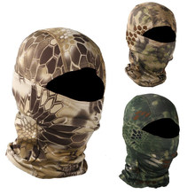 Camouflage Cycling Full Face Mask Tactical Mask Breathable Bike Ski Mask Hunting Army Military Airsoft Outdoor Hood Cap(China)