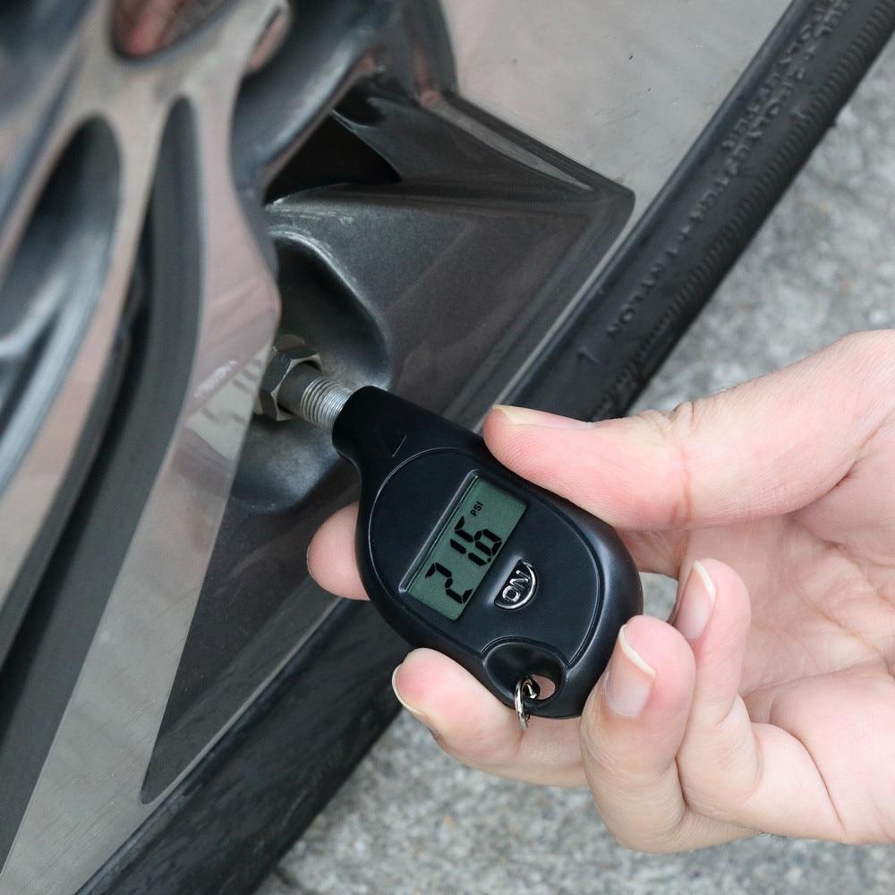 Compteur numérique de testeur de pression dair de trousseau de voiture pour la montée de Subaru Forester XV WRX VIZIV Outback héritage Impreza Crosstrek