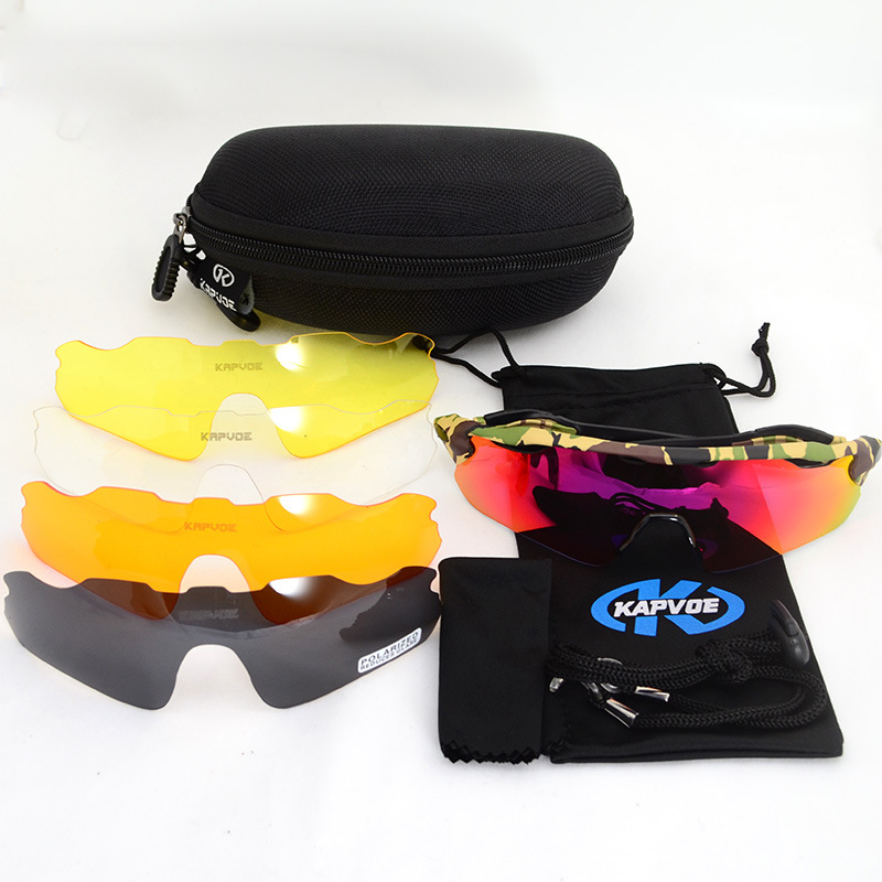 Men Women Cycling Sunglasses Bike Bicycle Polarized Eyewear Outdoor Sport Riding