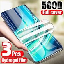 Screen Protector Realme C2 X50 X2 5 3 2 Pro X lite Hydrogel Film for Oppo Reno Z Q A Ace 4 10X 3i 2Z full Cover Protective Film