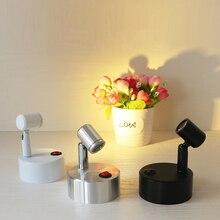 Небольшие светодиодные светильники, витрина для ювелирных изделий, мини-лаконичный выставочный прилавок, беспроводной светильник с батареей lo4525