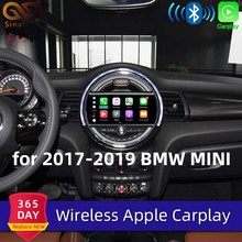Sinairyu Senza Fili di Apple Carplay per Bmw Mini Evo 6.5 Pollici/8.8 Pollici di Schermo 2017-2019 Airplay Android Auto apple Mirroring Gioco Auto(China)