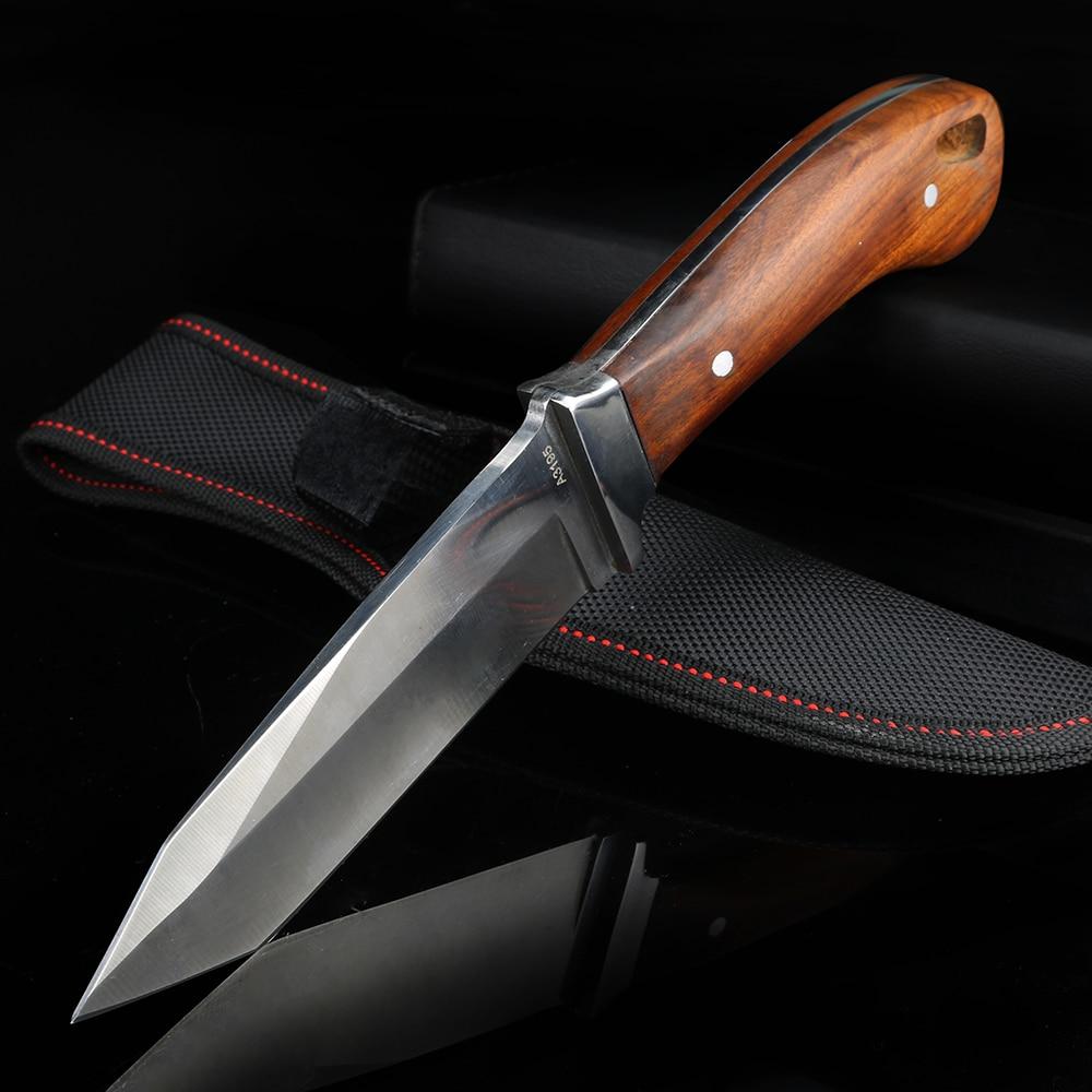 Outdoor Knife Camping Hunting Knife Multifunctional Short Knife Field Self-defense Knife Survival Knife