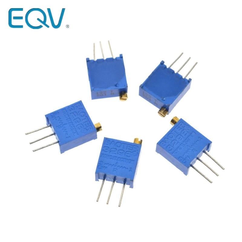 3296W-1-502LF 3296W 502 5K ohm régulation supérieure potentiomètre réglable multitour résistance Variable de haute précision