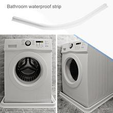 1 м резиновый силиконовый барьер для душа, водоотталкивающая полоска для ванной комнаты, силиконовый водяной блокировщик, домашний Verbeteren, Прямая поставка
