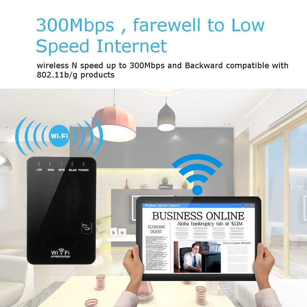 Wifi repeater wireless router range extender Wifi signal booster Wi-Fi 300Mbps WiFi Booster 2,4G Wi Fi Ultraboost Zugang punkt