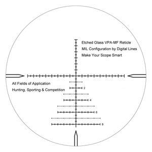 Image 5 - וקטור אופטיקה צלף 6 24x50 FFP טקטי Riflescope 1/10 MIL דקות פוקוס 10yds הראשון מישור מיקוד רובה ציד. 338 Lap