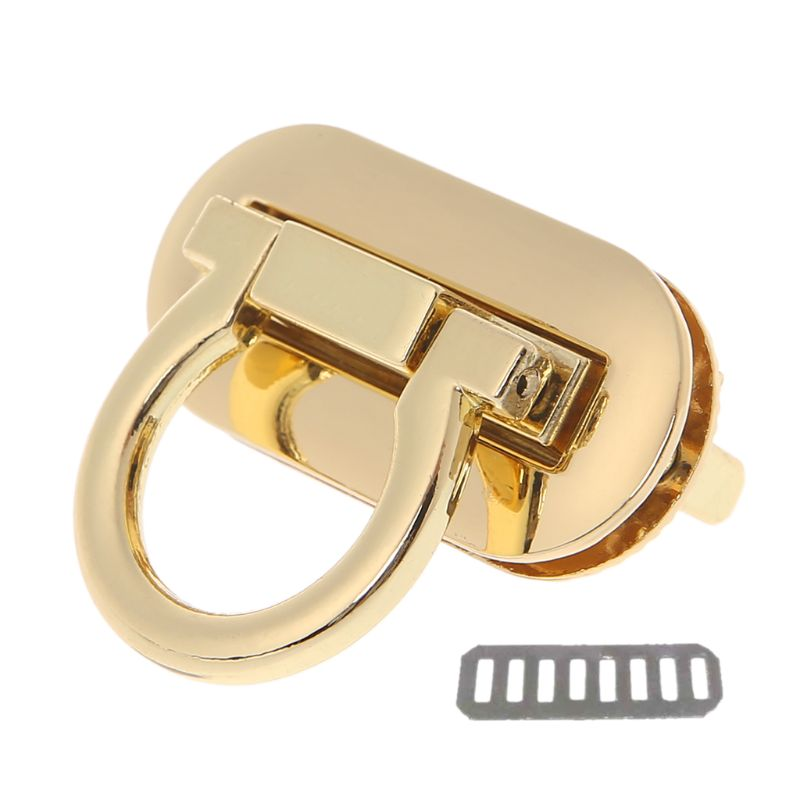 Metal Clasp Turn Lock Twist Locks for DIY Handbag Craft Bag Purse Hardware  Leather Bags Clothing Accessories