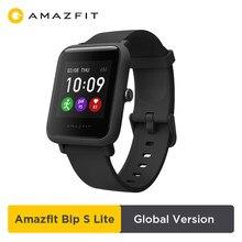Amazfit-reloj inteligente Bip S Lite versión Global, con Bluetooth, resistente al agua hasta 5 ATM, notificaciones Push-up, 2020