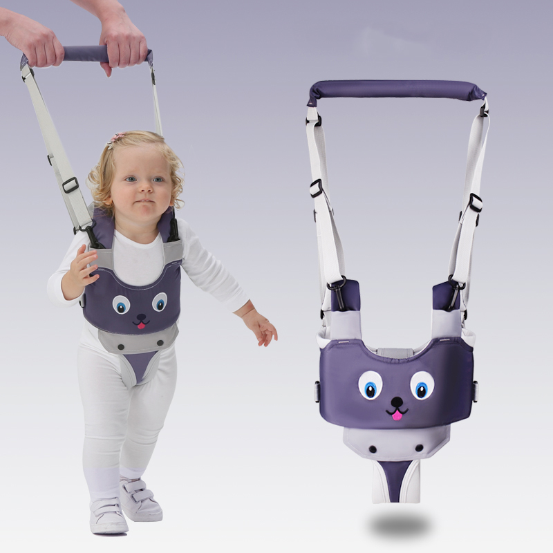 Baby Walker Harnesses Backpack Leashes Andador para bebe Owl Baby Kids Assistant walker with wheel  Learning Safety Toddlers