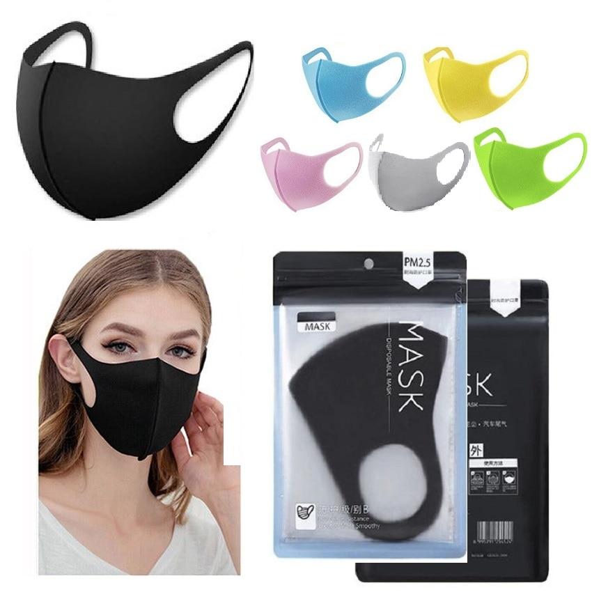 271.8руб. 33% СКИДКА|3 шт., для взрослых детей, для детей, маска для лица, против дыма, защитная маска для пыли, дышащая, моющаяся, удобная Защита лица|Маски| |  - AliExpress