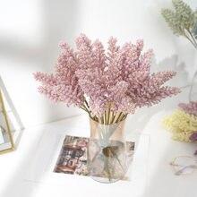 Natural flores artificiais secas frescas preservadas farinha de milho flor eterna para sempre flor diy material decoração para casa