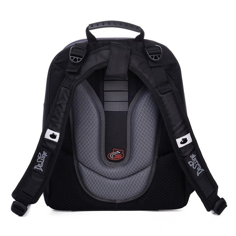 DELUNE Orthopedic School Backpack Kids Bag Waterproof famous Primary Children School Bag For Girls And Boys Hard Shell EVA