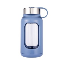 High Borosilicate Flower Receptacle Originality Plastic Wave Cup Gift Large Capacity 1000ml Water Motion Kettle