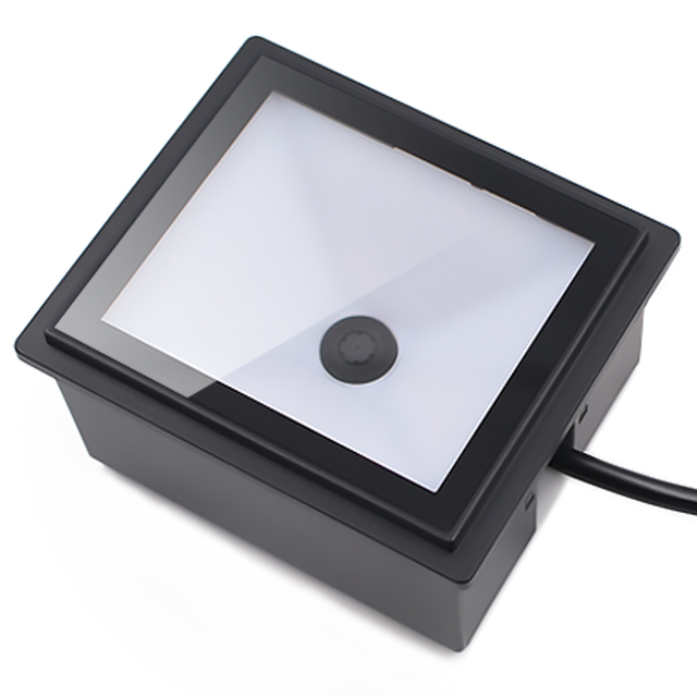 Waterproof CMOS QR 2D Black Fixed Mount Barcode Scanner for Kiosk Vending Access Control EP8000Y 4
