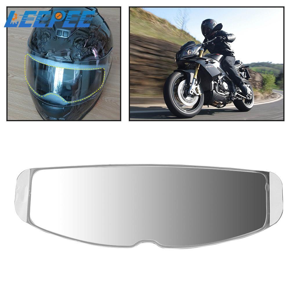 Universal Motorcycle Helmet Lens Fog Resistant Films Clear Anti-Fog Patch Film Motorbike Motocross Goggles Racing Accessories