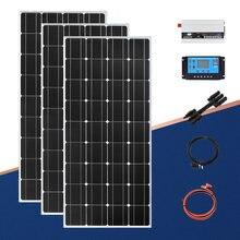 Автономная солнечная панель 110 В 220 450 Вт 12 зарядное устройство