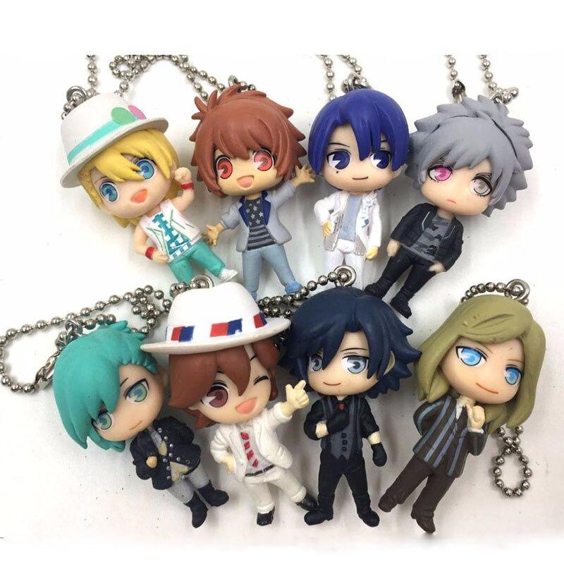 TAKARA TOMY Arts / Uta No Prince-sama Maji Love 1000% Japanese Anime Figure PVC Collection Mobile Phone Charms/key Chain/strap