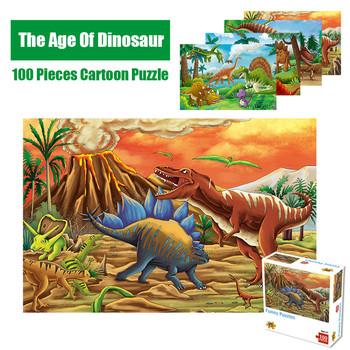 Puzzle dla dzieci Puzzle dla dzieci 100 sztuk Puzzle edukacyjne dla dzieci Puzzle dla dzieci Puzzle dla dzieci zabawki dla dorosłych tanie i dobre opinie Unisex STARSZE DZIECI 6 lat Papier COMMON Zwierząt X51818