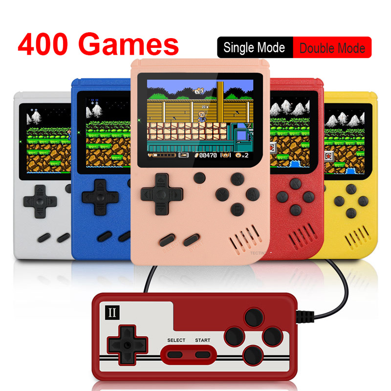 400 in 1video game console Retro Portable Mini Handheld Game 3.0 Inch Color LCD Kids Color Game Player Built-in 400 games
