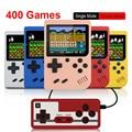 400 В 1 игровая консоль Ретро портативная мини-игра 3,0 дюйма цветной ЖК-дисплей детская цветная игровая консоль встроенные 400 игр