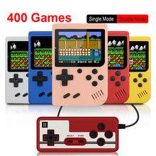 400 w 1 gra wideo konsola Retro przenośna Mini przenośna gra 3.0 Cal kolorowy wyświetlacz LCD dzieci kolor gry odtwarzacz wbudowany 400 gier