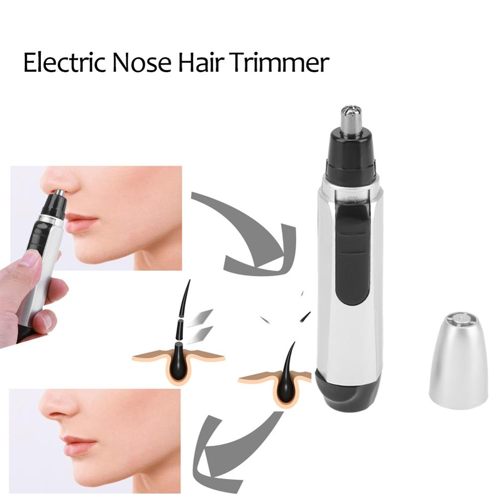 Electric Nose Hair Trimmer Home Use Ear Nose And Facial Hair Trimmer Shaver Trimmer Face Care Clipper Trimme Health Face Care