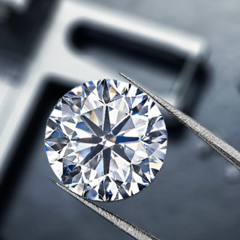 Luźne kamienie szlachetne moissanite D kolor 0 5ct Carat 5mm VVS1 gra certyfikowane kamienie szlachetne do tworzenia biżuterii hurtowych partii luzem prezenty tanie i dobre opinie shiningorna Diament D Kolor CN (pochodzenie) Grzywny 6116143878