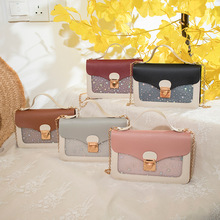 2021 Chain Bag Women's Summer Korean Fashion Portable Single Shoulder Bag Transparent Messenger Bag Purses And Handbags Purse