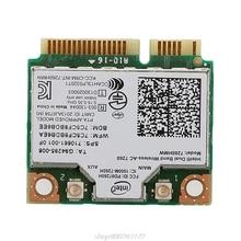For Dual Band Wireless-AC 7260HMW Mini PCI-E BT4.0 Card for intel for hp SPS 710661-001 Z07 Drop ship A27 21 Dropship