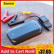 Baseus Arrancador de batería para coche, arranque de emergencia para automóviles, cargador portátil de batería, booster de energía, reactivador de batería, 800A