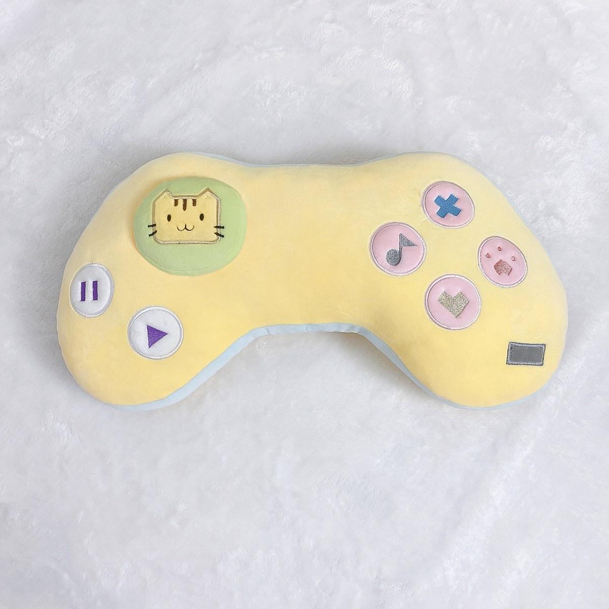 Kawaii Game Console Controller Pillow Plush 7