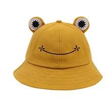 Mode grenouille seau chapeau pour femmes été automne plaine femmes en plein air randonnée plage casquette de pêche crème solaire femme Sunhat Bob 2021