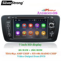 SilverStrong IPS Android10 DSP Radio Car DVD for SEAT IBIZA 2009 2014 with best Radio Mirroring Link option DVR DAB Antenna