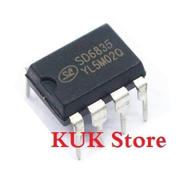 Real 100% Original NEW  SD6835  DIP8  20PCS/LOT